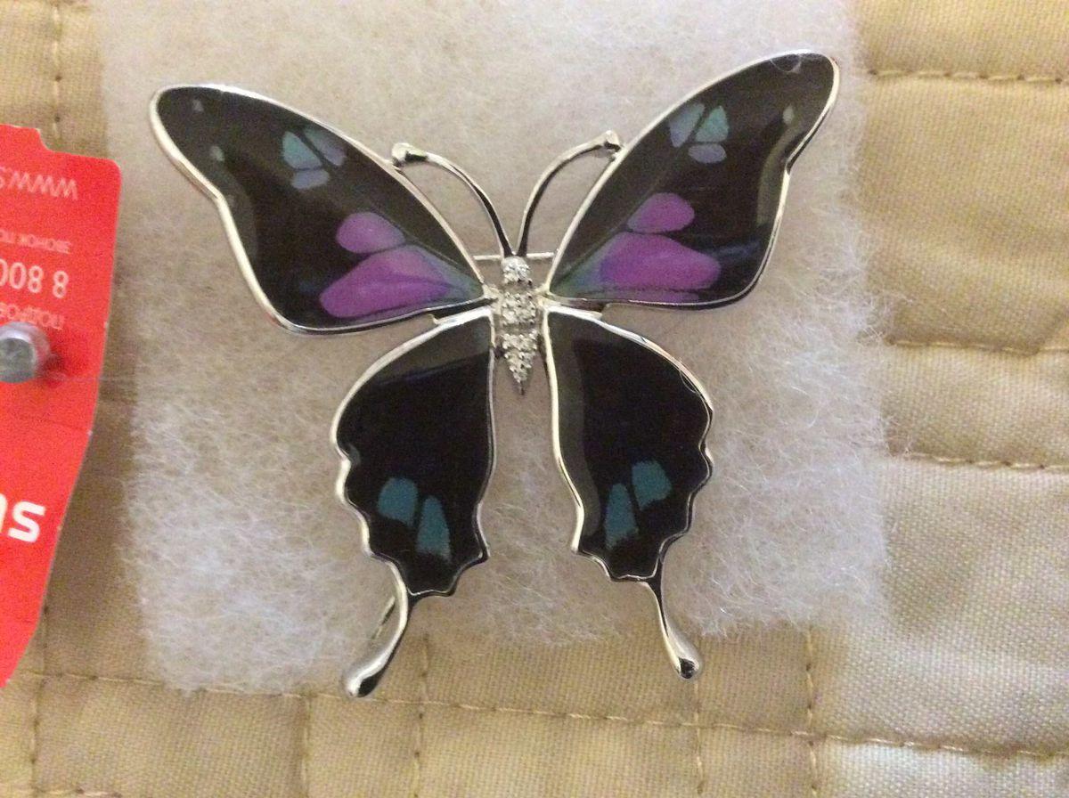 Бабочка эмаль