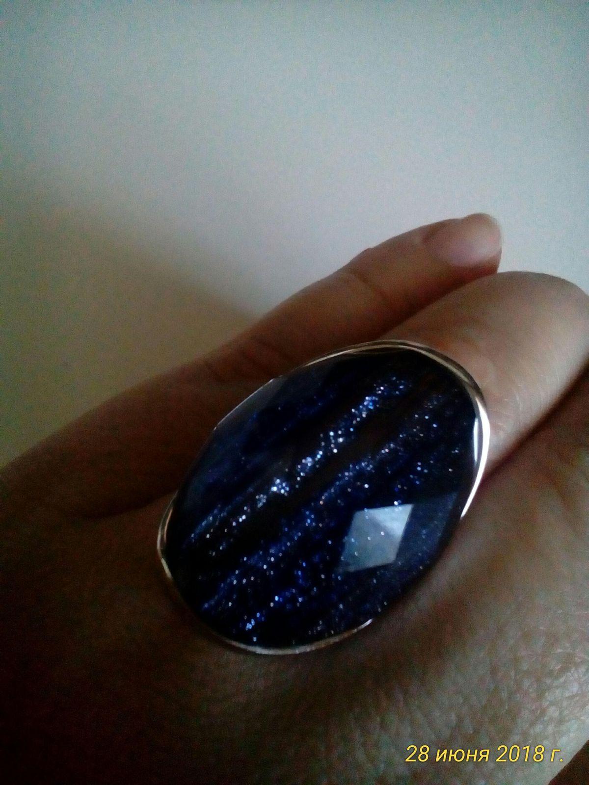 Космическое кольцо!!! Галактика на пальце!!!!