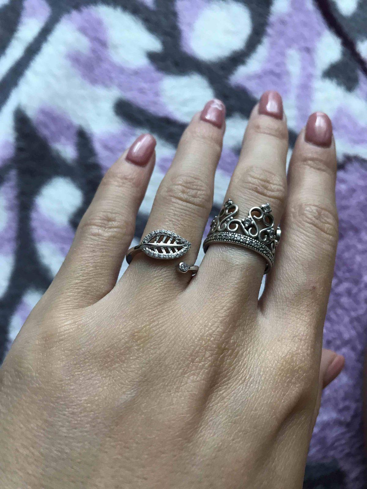 Нежное кольцо для девушки.