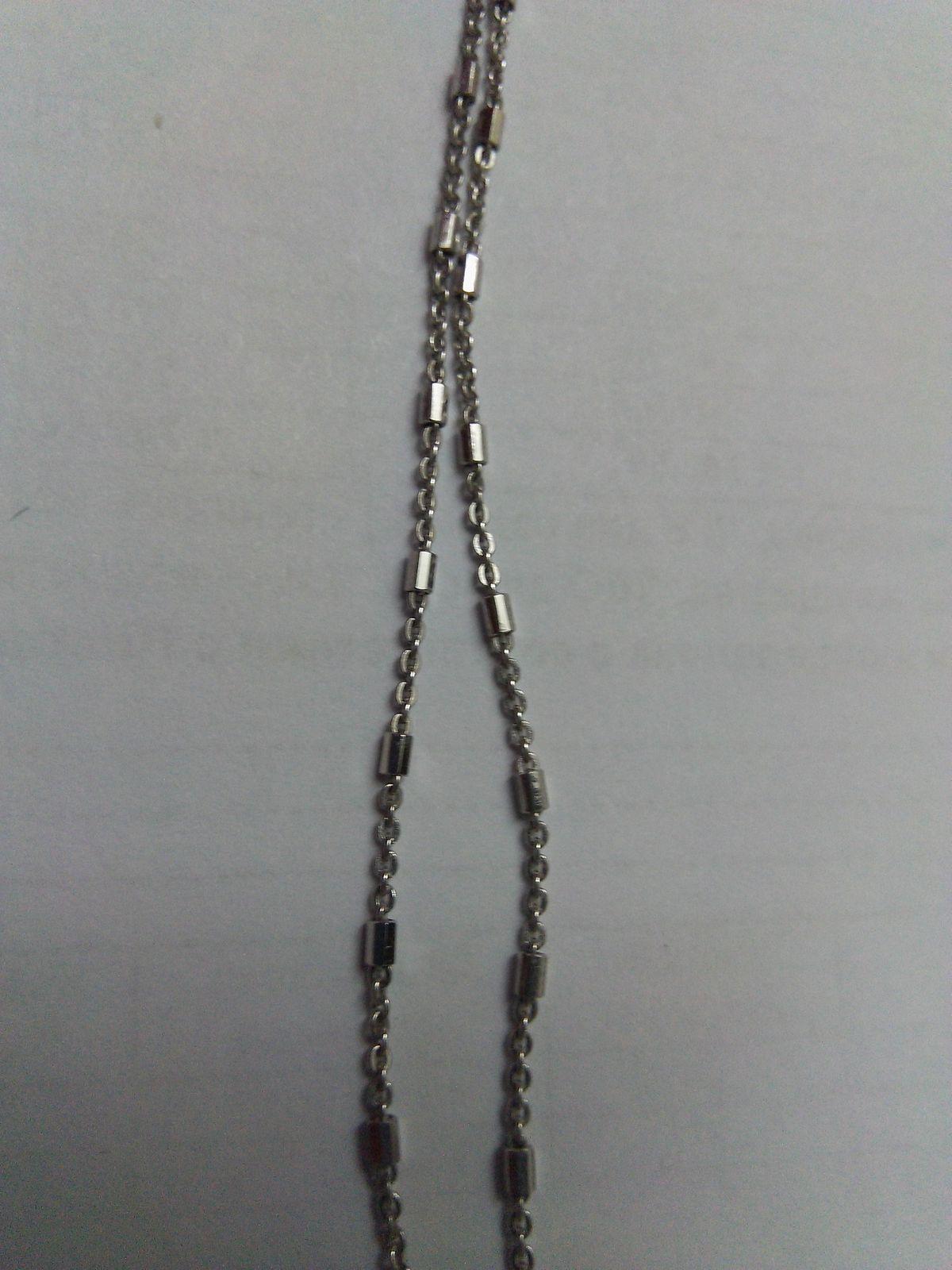 Цепочка стала последним звеном для создания своего комплекта из серебра.