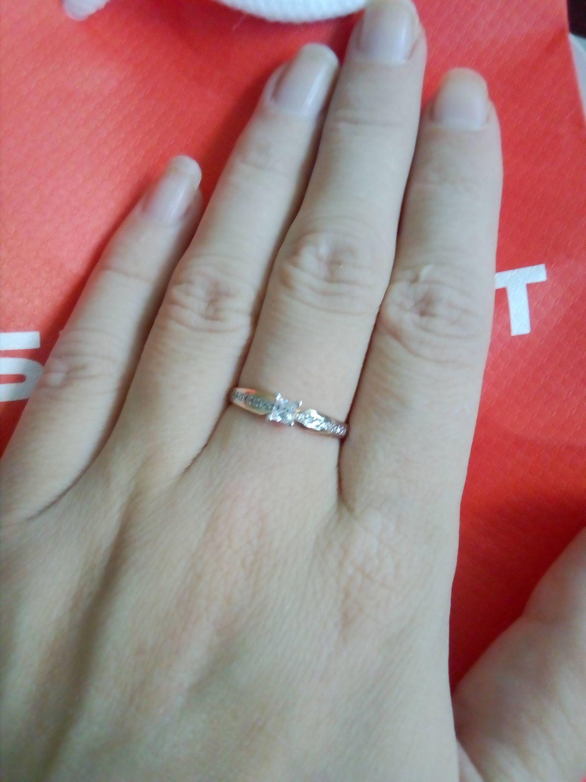 Красивое кольцо свекровь подарила на день рождения