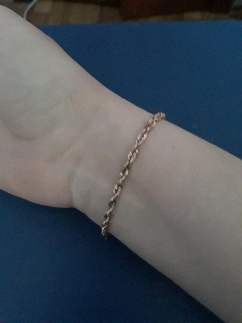 Красивый нежный браслет