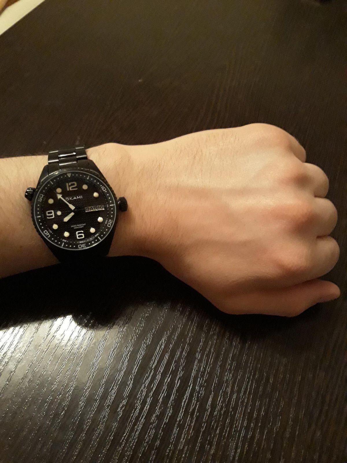 Стильные часы, отличный подарок