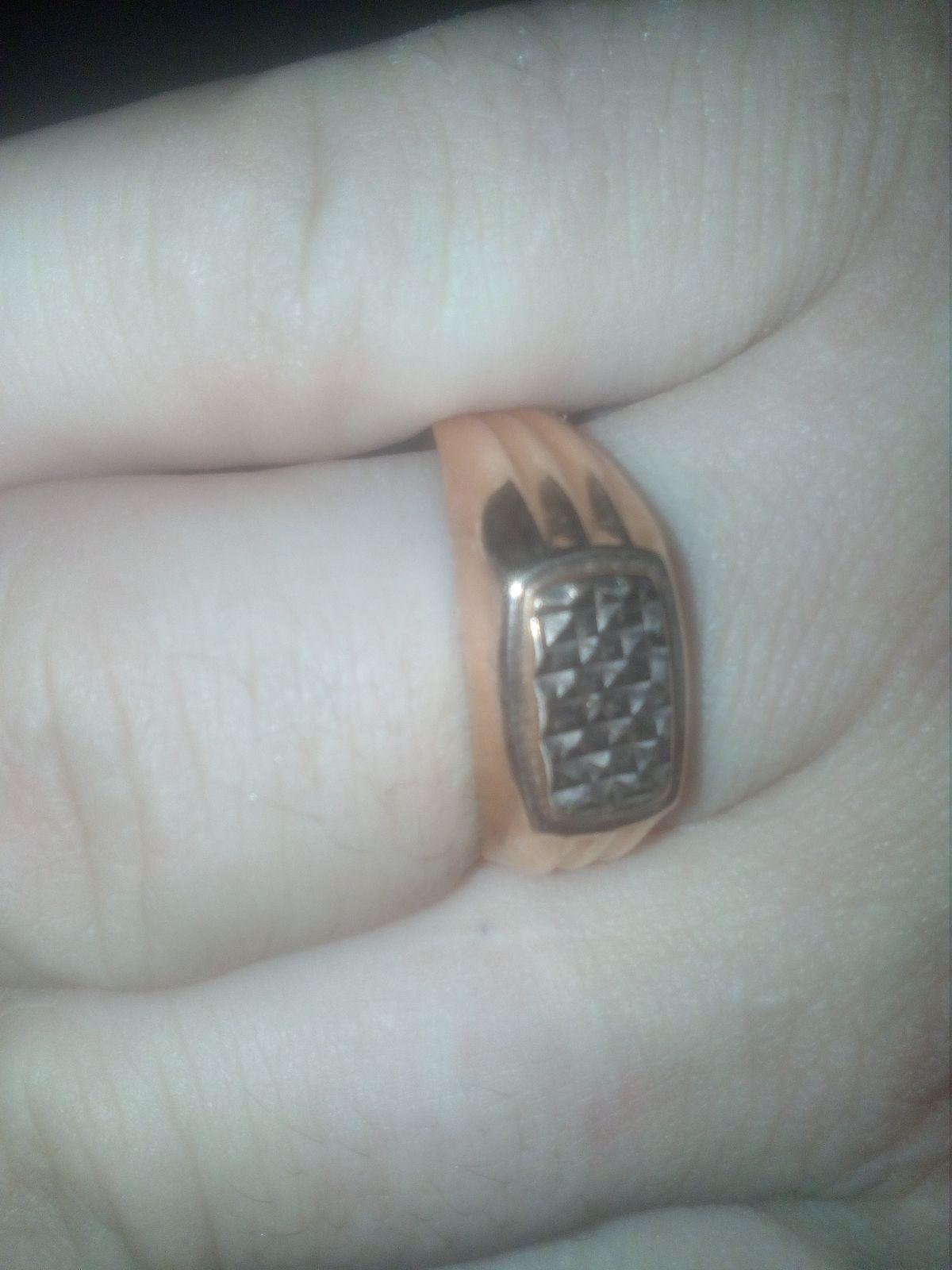Золотое кольцо для мужчин..