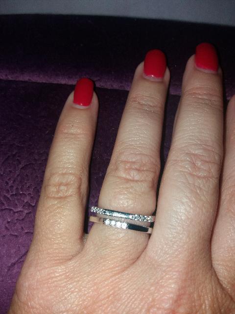 Серебряное кольцо с фианитами - моя УДАЧНАЯ покупка!