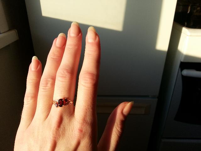 Кольцо дополнение к подарку