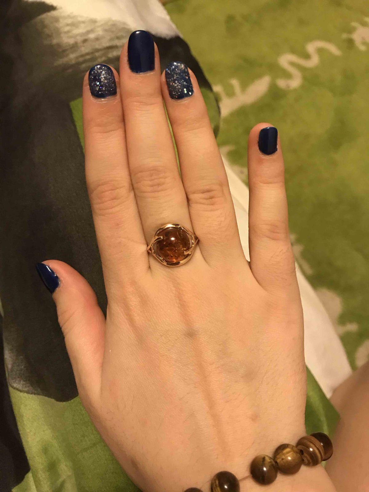 Кольцо из янтаря превзошло все ожидания