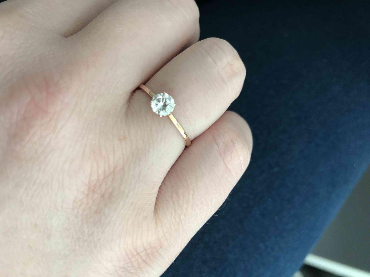 Кольцо для помолвки 💍