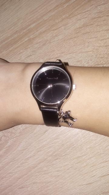 Часы с кошечкой