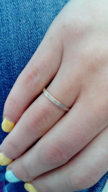 Мое самое лучшее обручальное кольцо, цена и качество на высоте. Спасибо Вам