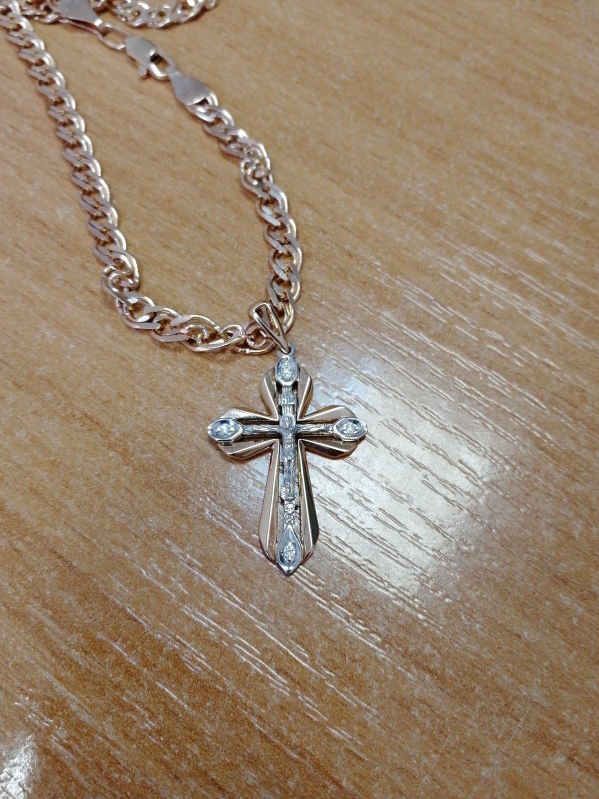 Отличный крест, на широкую цепочку самое то