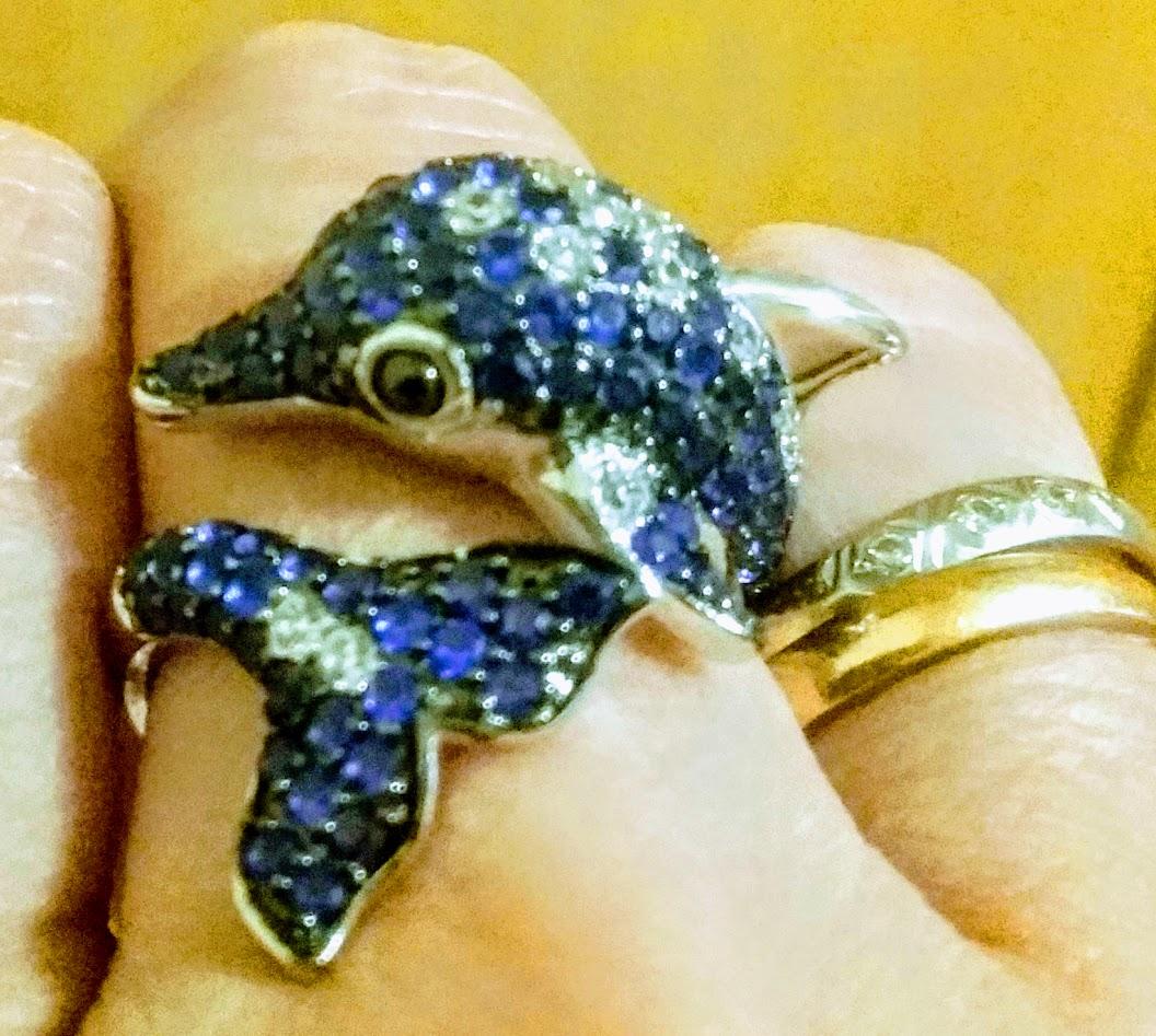 """Кольцо """"Дельфин"""""""