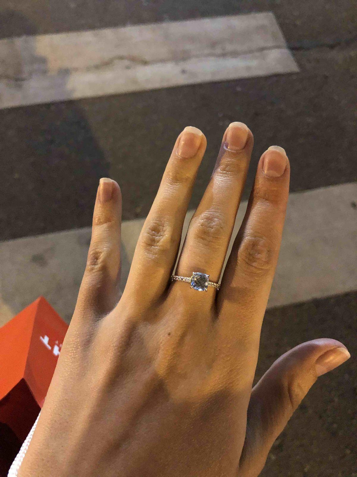Милое , нежное кольцо !