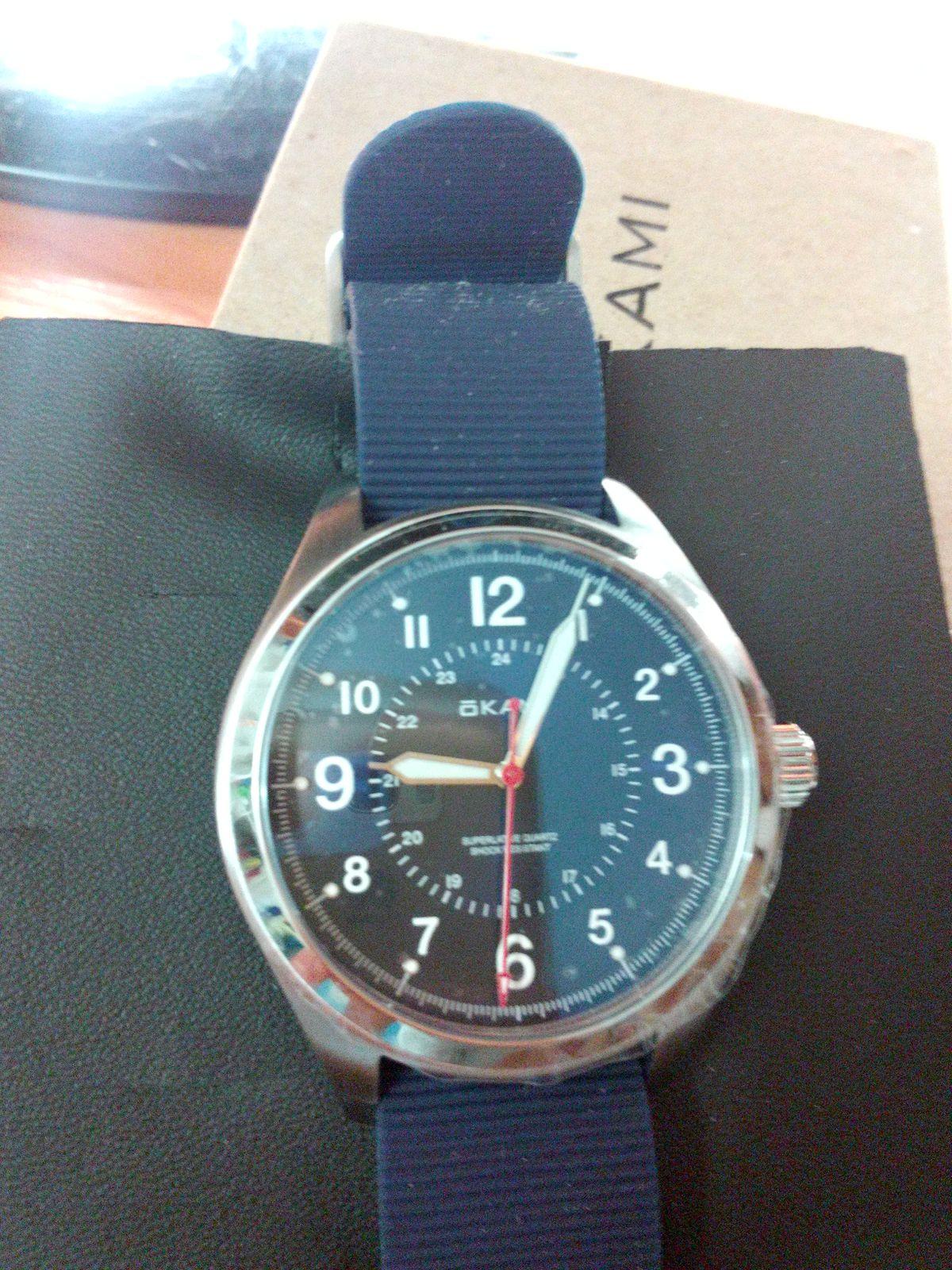 Стильные и крутые часы.