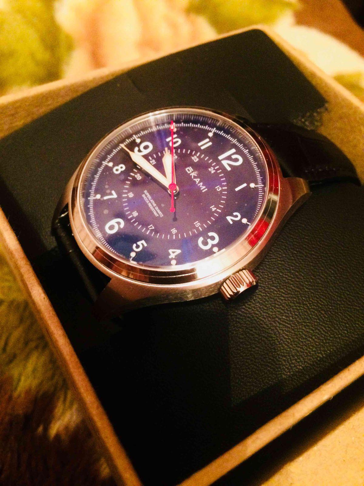 Красивые часы ...