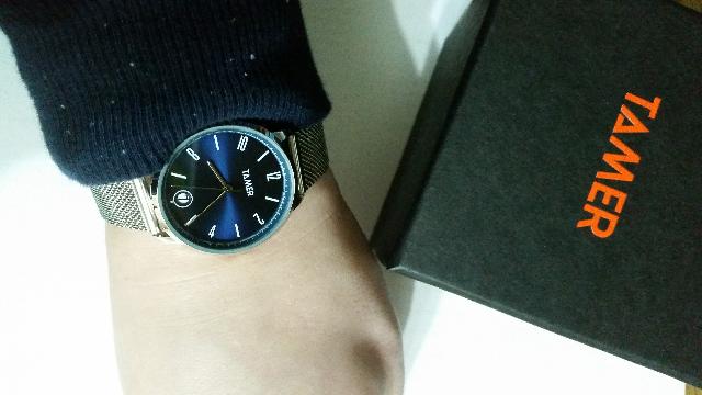 Новенькие часы!