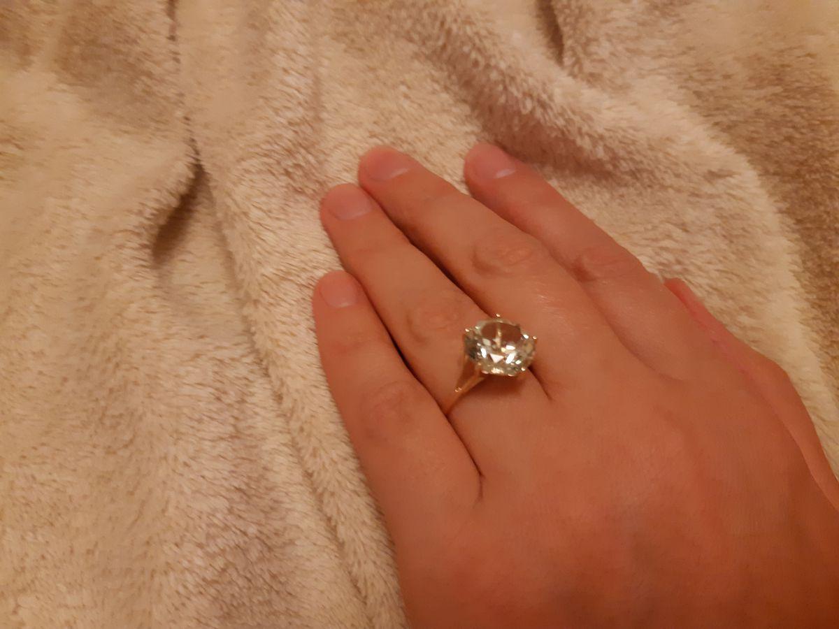Мое кольцо с аметистом