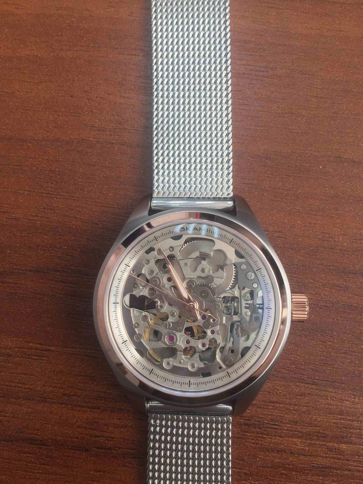 Часы механические с автоподзаводом okami