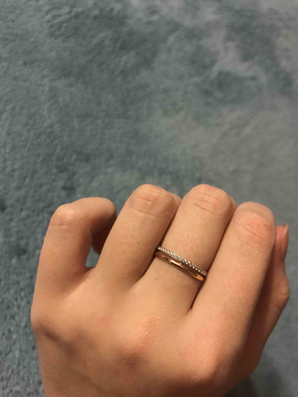 Изящное красивое кольцо