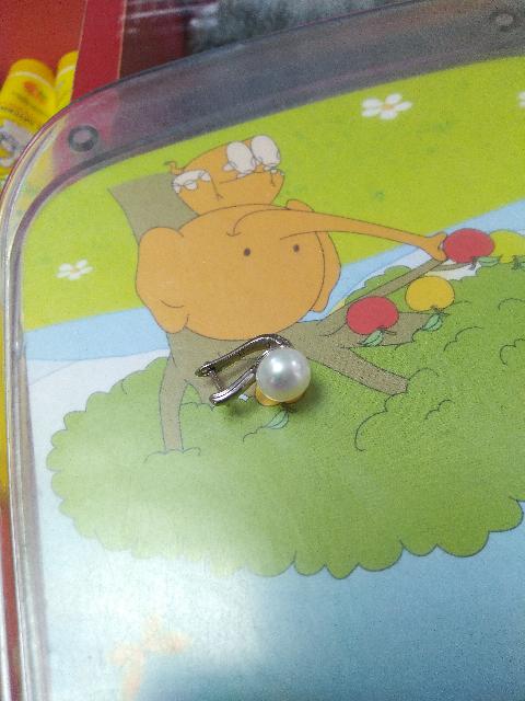 Серьги с жемчугом