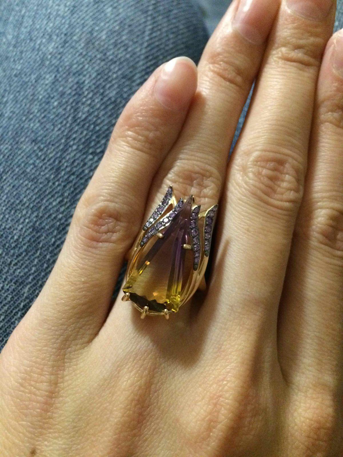 Кольцо необычное