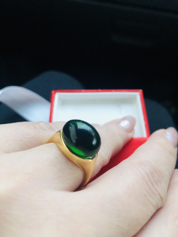 Кольцо под золото