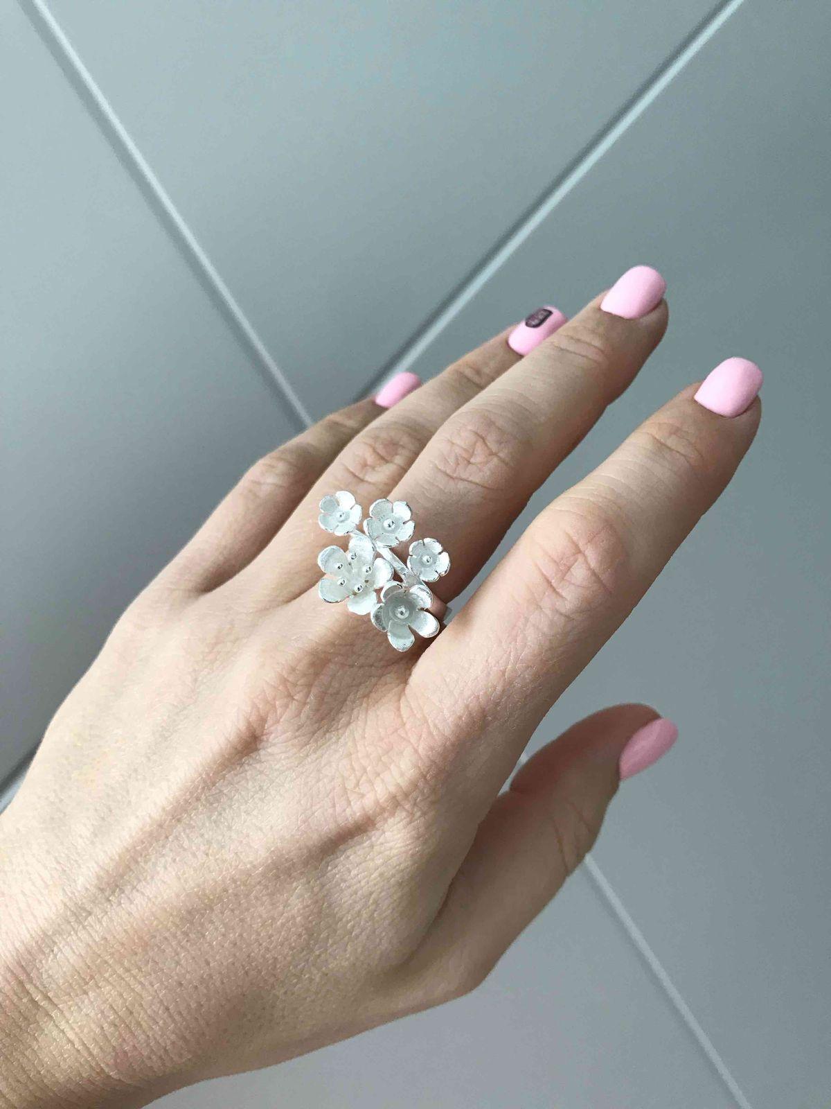 Матовое кольцо