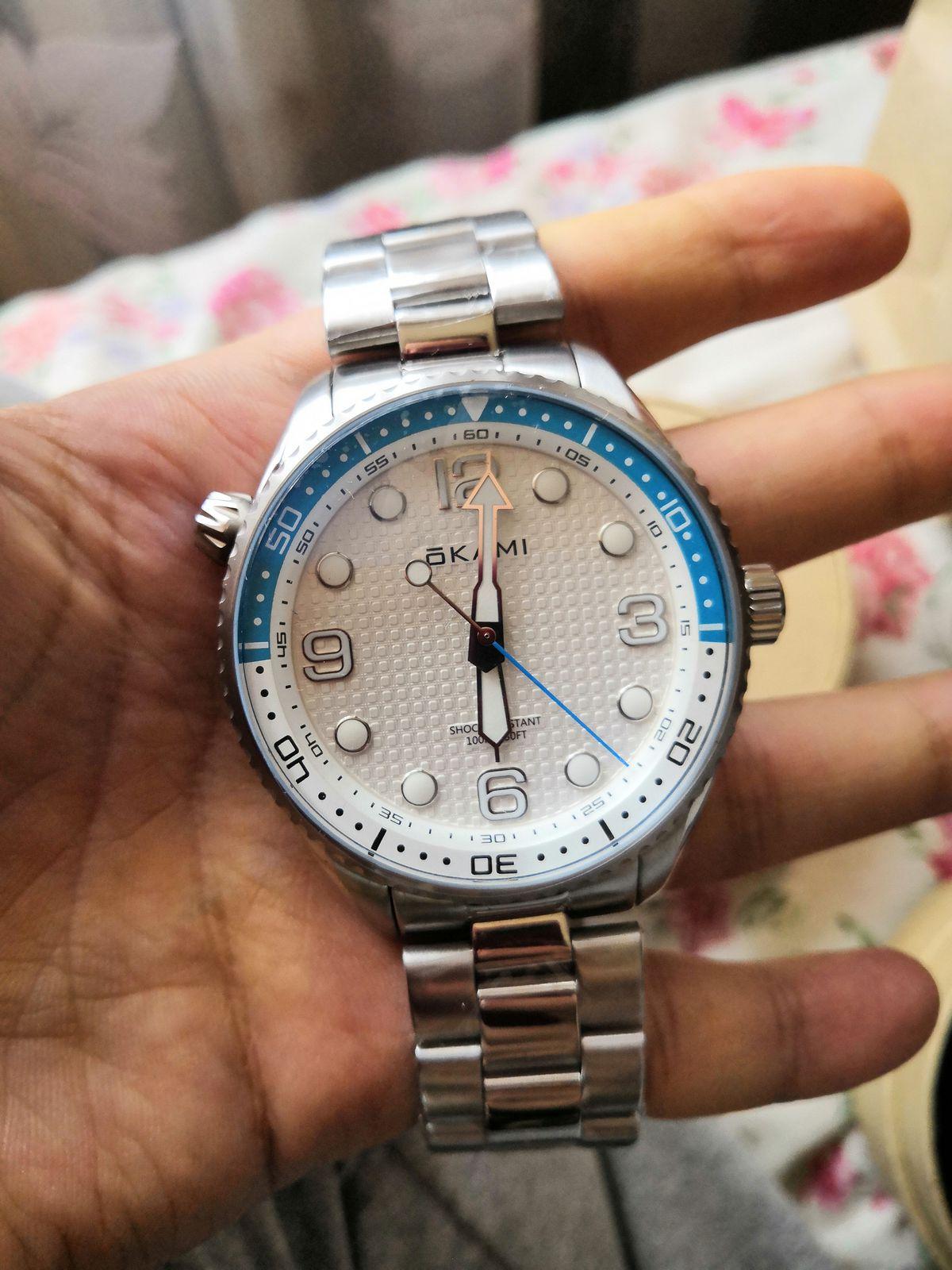Часы-огонь👍