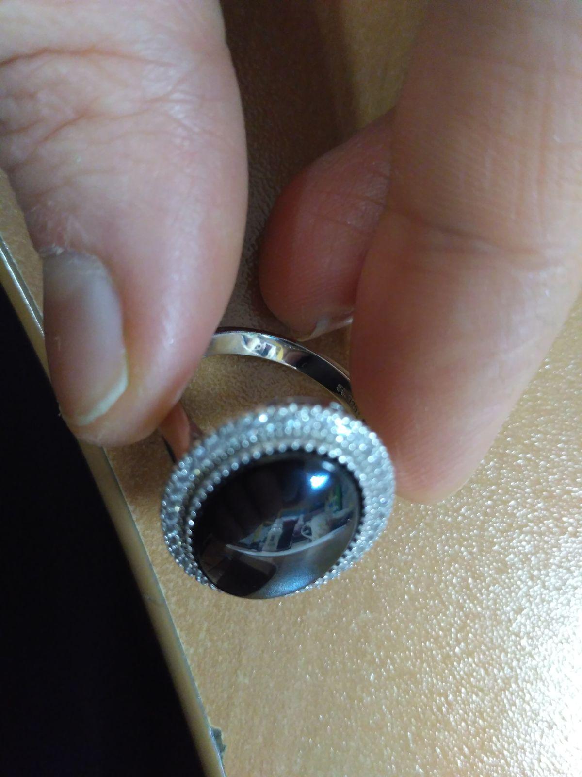 Кольцо блеск
