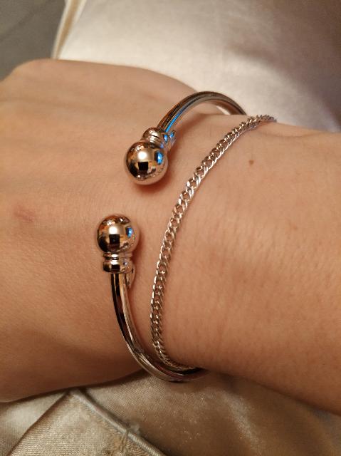 Универсальный браслет из серебра