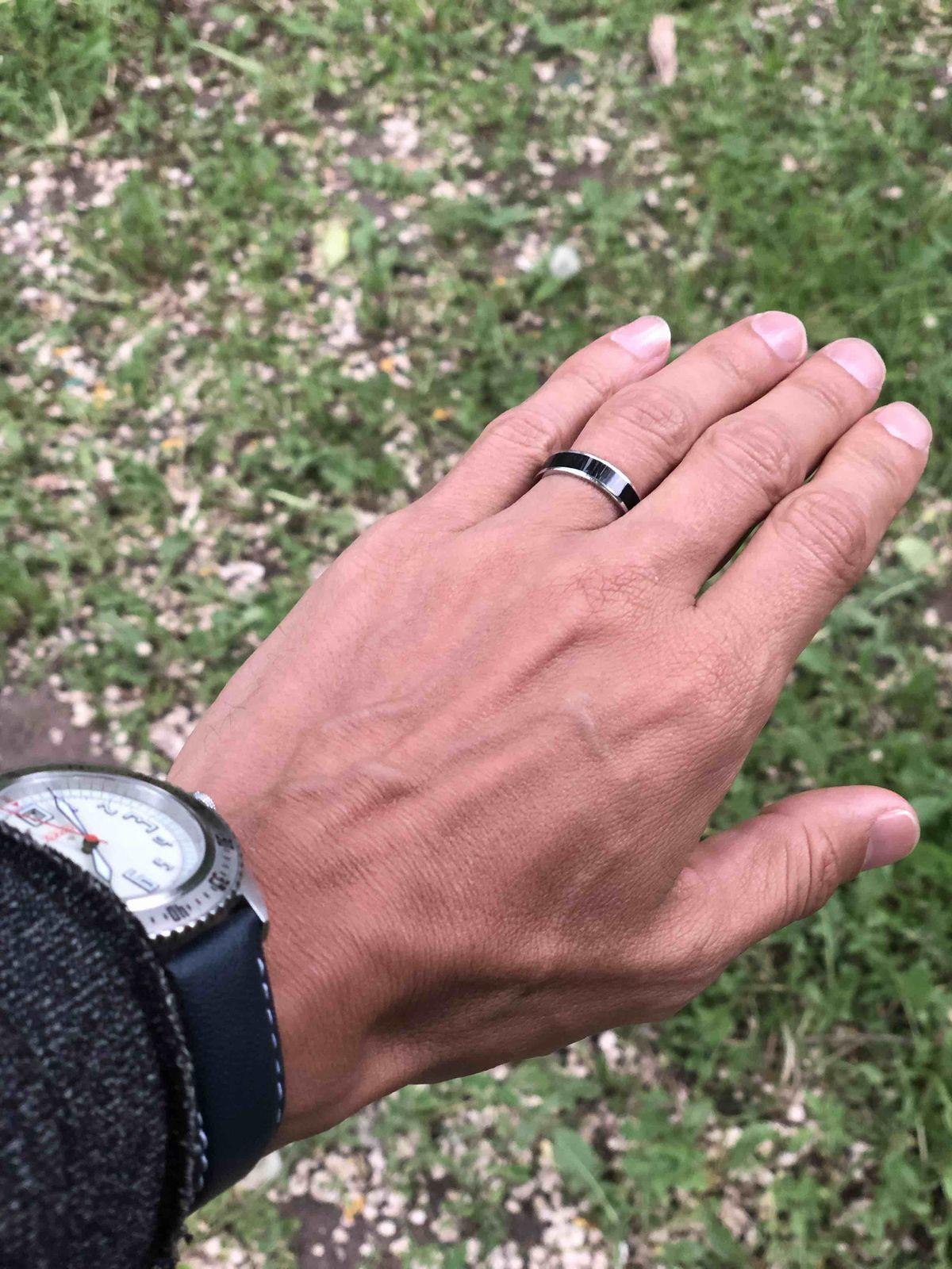 Когда кольцо твое дополнение