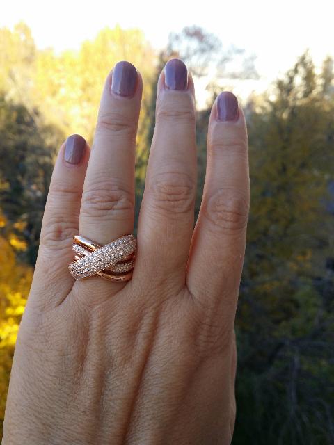 Кольцо для красивых дам
