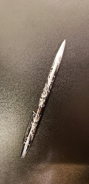 Серебряная ручка с феонитом!