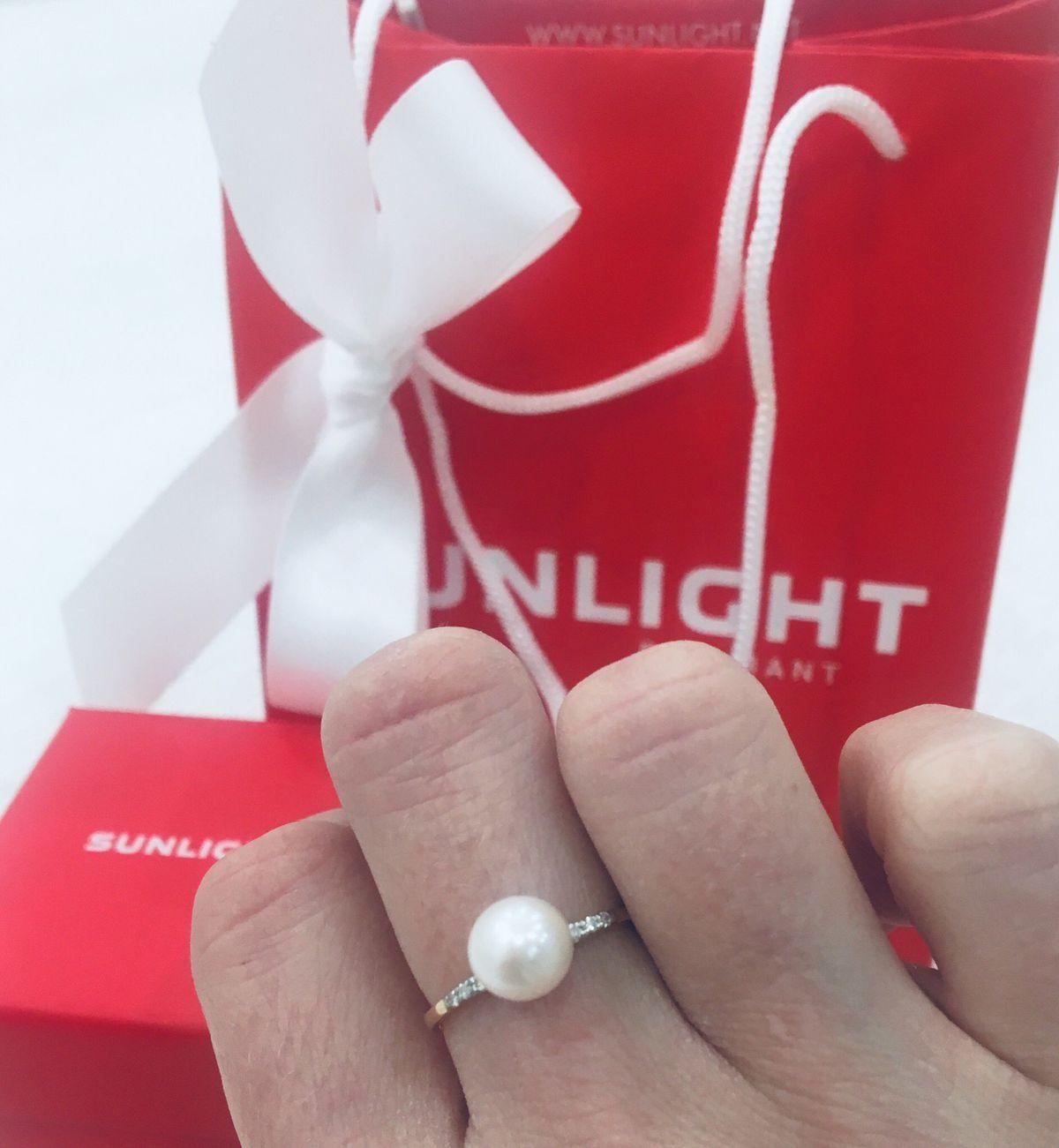 Кольцо и серьги с жемчугом. моя идеальная пара на годовщину.