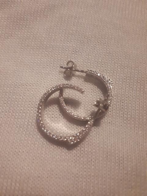Модные серьги-кольца!