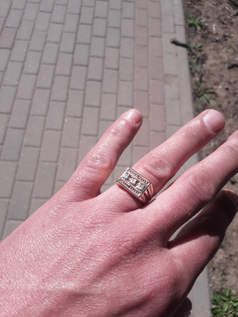 Кольцо для настоящих мужиков