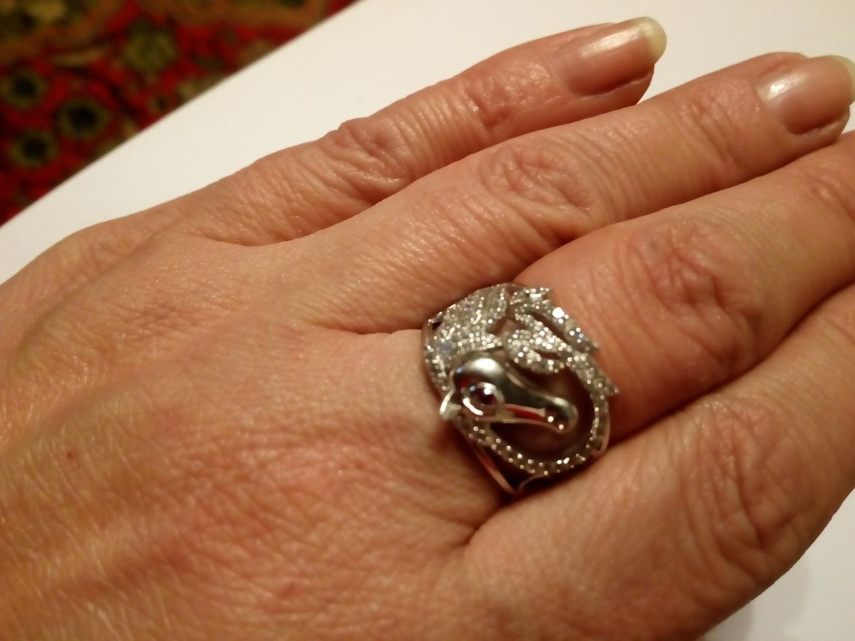 Оригинальное кольцо