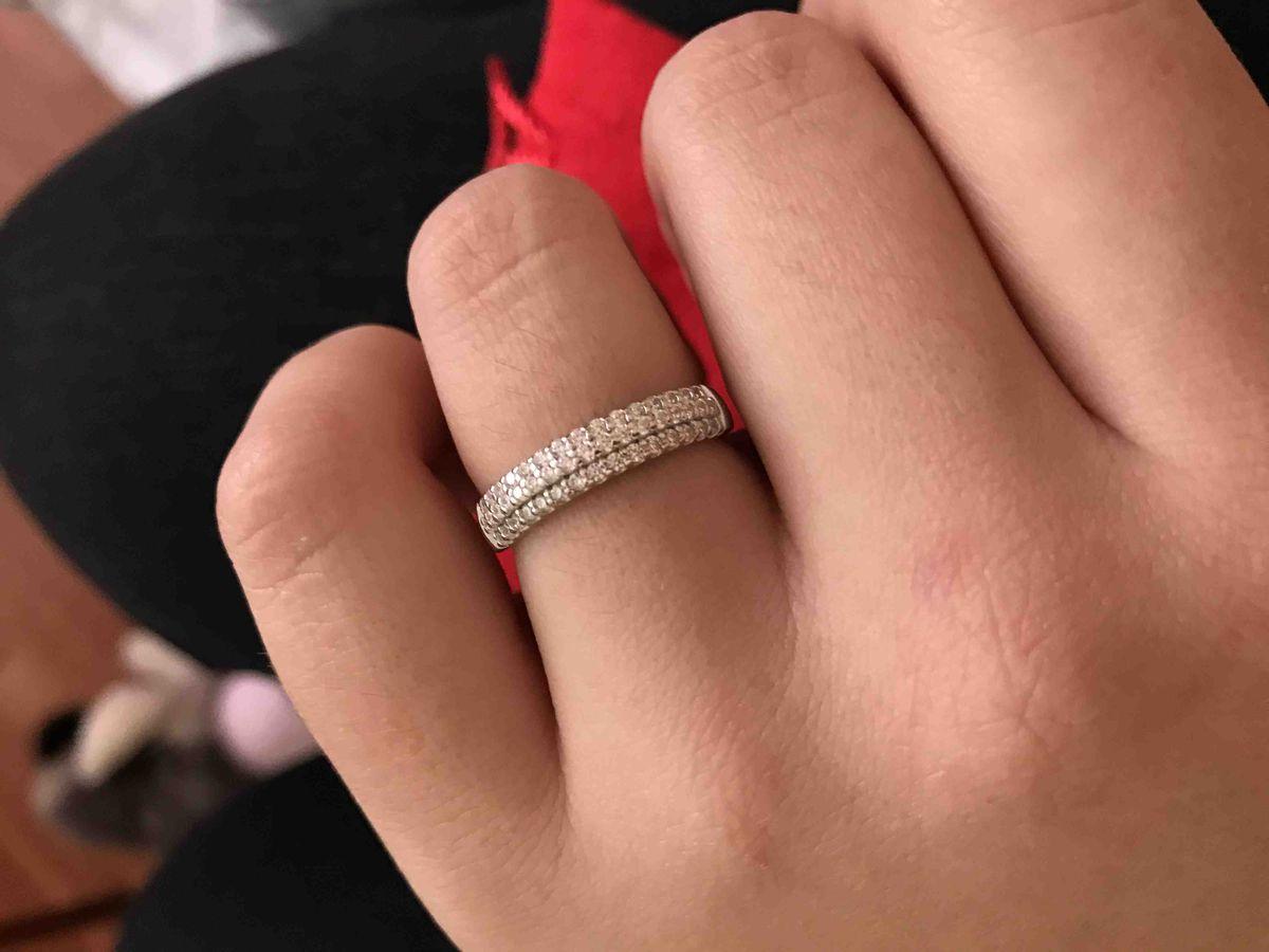 Кольцо в подарок на день рождения!