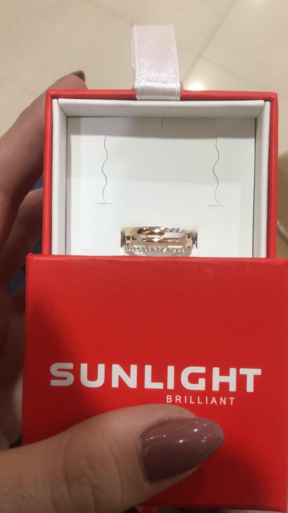SUNLIGHT кольцо