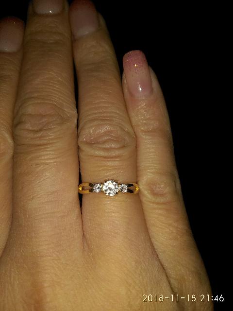 Кольцо на свадьбу