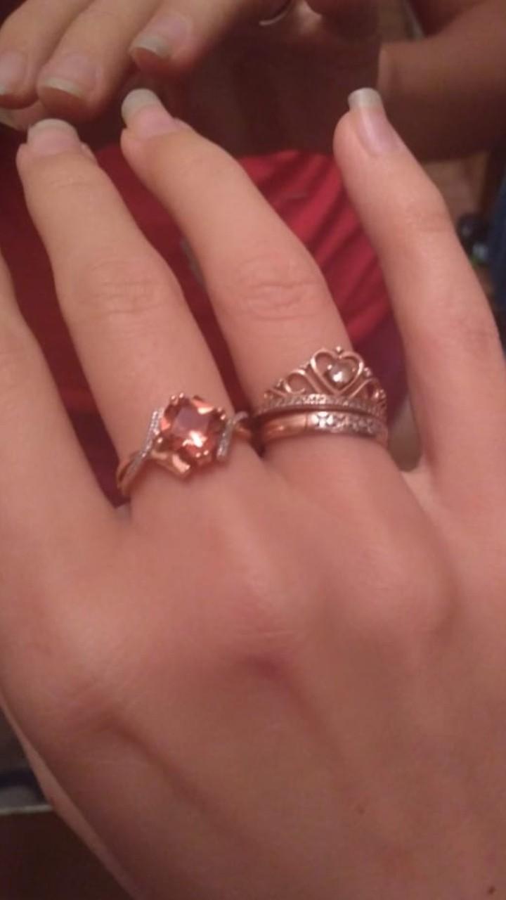 Шикарное кольцо и серьги