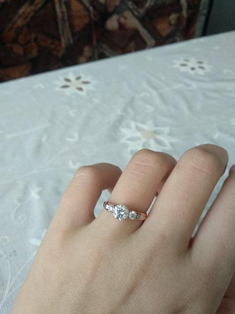 Купила помолвочное кольцо